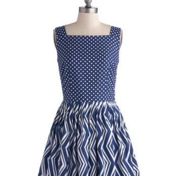39afa157167e4 Modcloth Backyard Birthday Party Dress